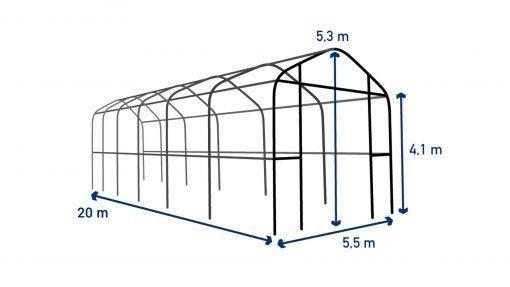 Storage tent T520
