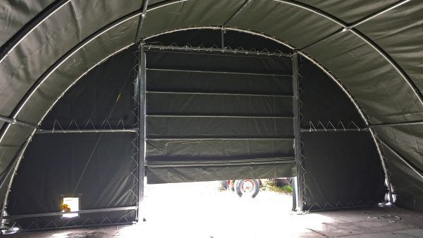 T912-storage-tent-green-interior-door