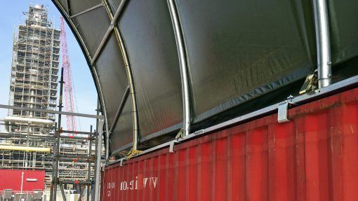 Containeroverkapping TC1012