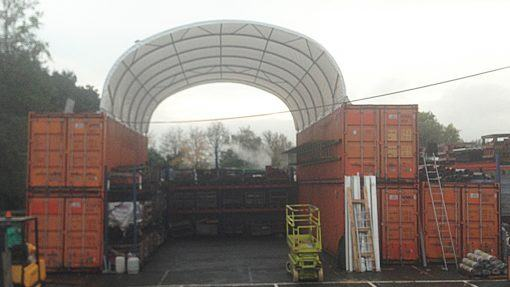 Container shelter TC812