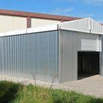 WT609-warehouse-tent-roll-up-door