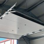 insulated-storage-building-overhead-door-inside-roof