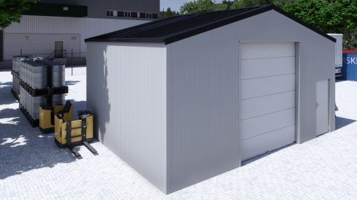 Storage building H806h insulated