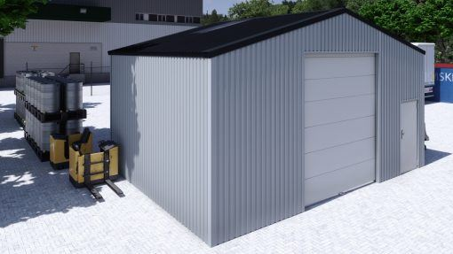Storage building H806h non-insulated