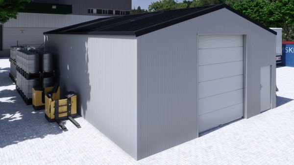 Storage building H812h insulated