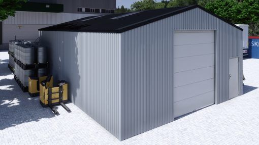 Storage building H812h non-insulated