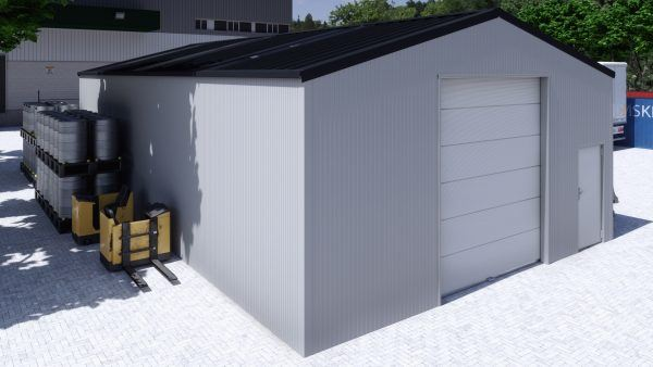 Storage building H814h insulated