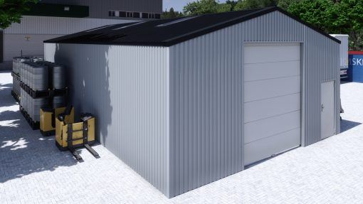 Storage building H814h non-insulated