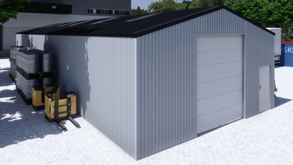 Storage building H826h non-insulated