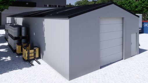 Storage building H829h insulated