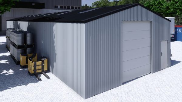Storage building H832h non-insulated