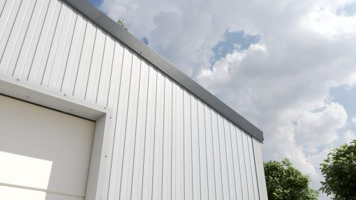 Storage building H614 insulated