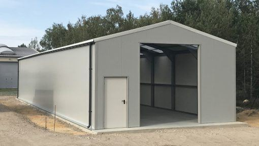 Storage building H1243-40 insulated