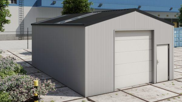 Storage building H609 insulated