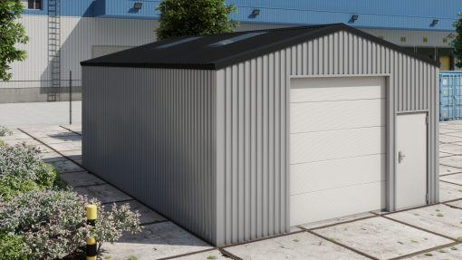 Storage building H609 non-insulated
