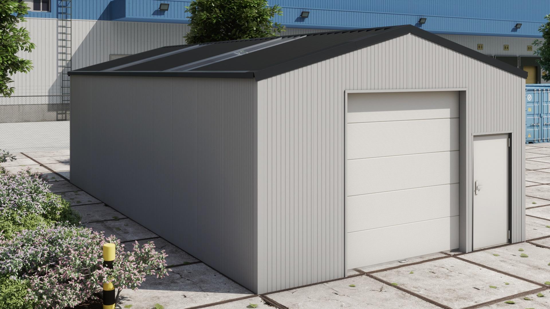 Comment Isoler Son Garage Moindre Cout hangar de stockage h612 isolé
