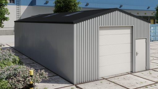 Storage building H614 non-insulated