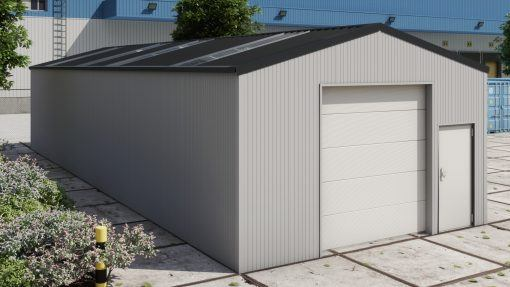 Storage building H617 insulated