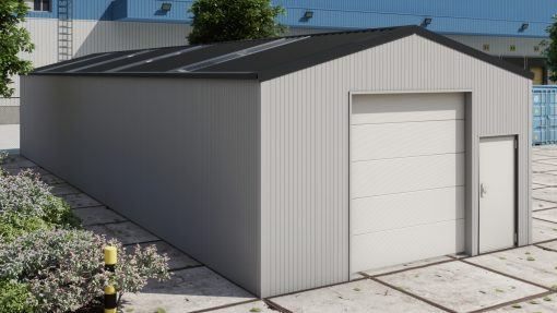 Storage building H620 insulated