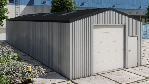 Storage building H620 non-insulated