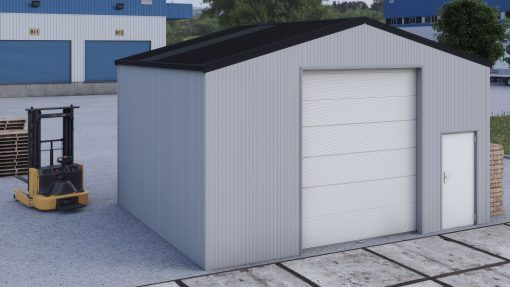Storage building H706h insulated