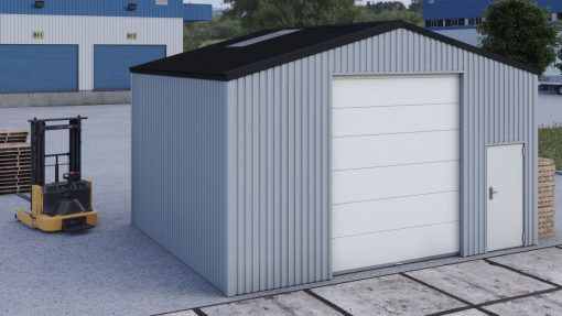 Storage building H706h non-insulated