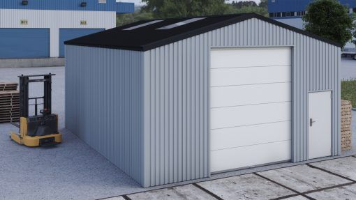 Storage building H709h non-insulated