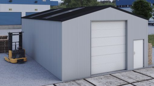Storage building H712h insulated