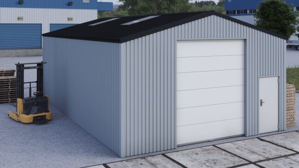 Storage building H712h non-insulated