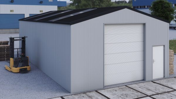 Storage building H714h insulated