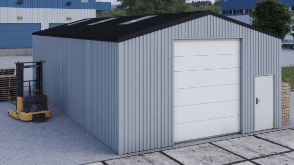 Storage building H714h non-insulated