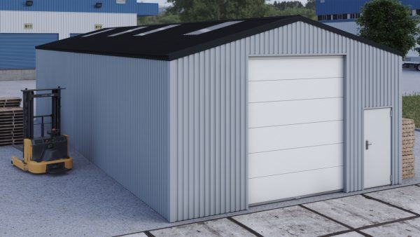 Storage building H717h non-insulated
