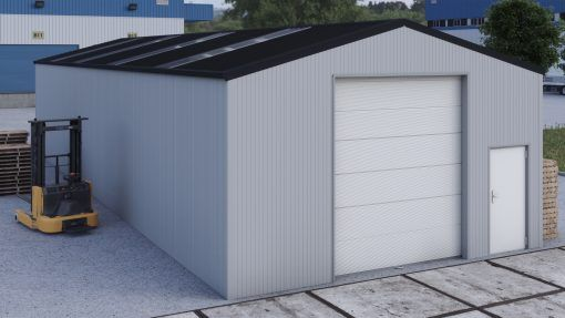 Storage building H720h insulated