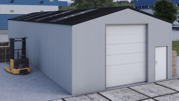 Storage building H723h insulated