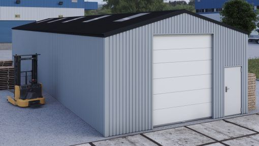 Storage building H723h non-insulated