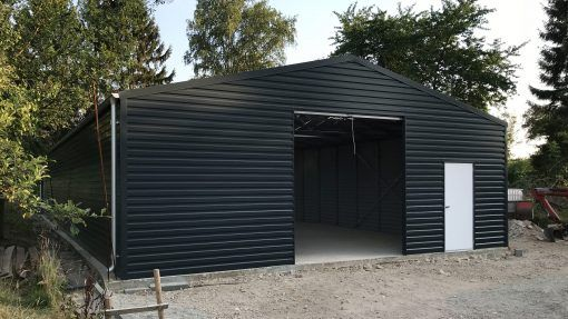 Storage building H913-44 insulated