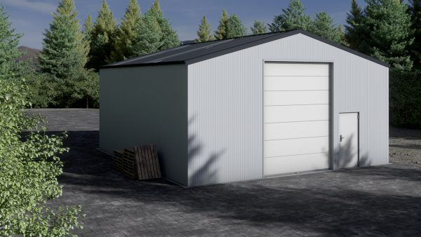Storage building H1010-40 insulated