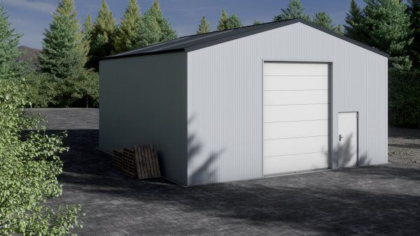 Storage building H910-44 insulated