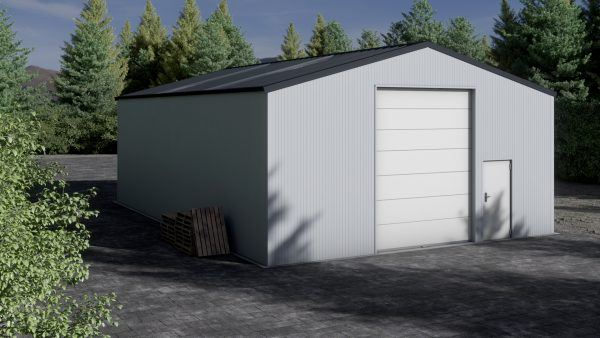 Storage building H1013-40 insulated