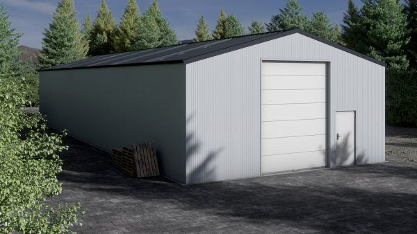 Storage building H1026-40 insulated