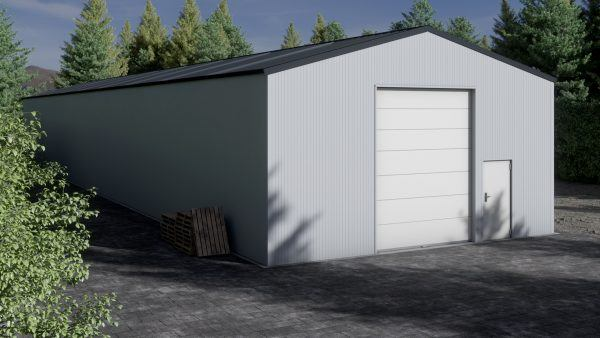 Storage building H940-44 insulated
