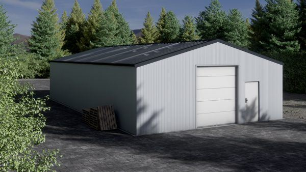 Storage building H1017-30 insulated