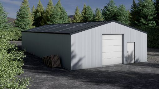Storage building H920-30 insulated
