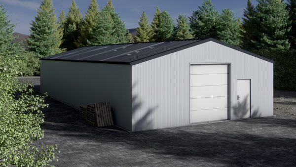 Storage building H1020-30 insulated