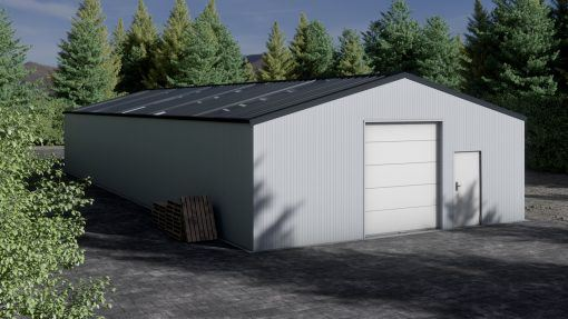 Storage building H923-30 insulated