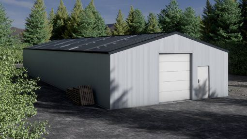 Storage building H1026-30 insulated