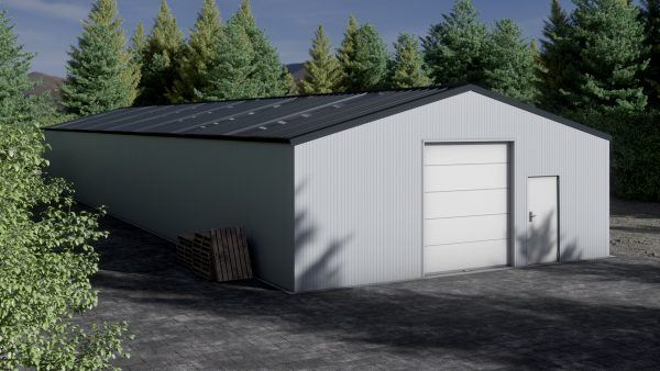 Storage building H1033-30 insulated