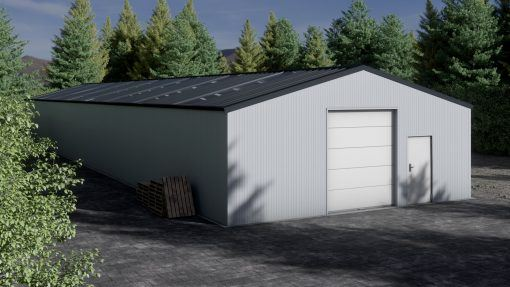 Storage building H1036-30 insulated