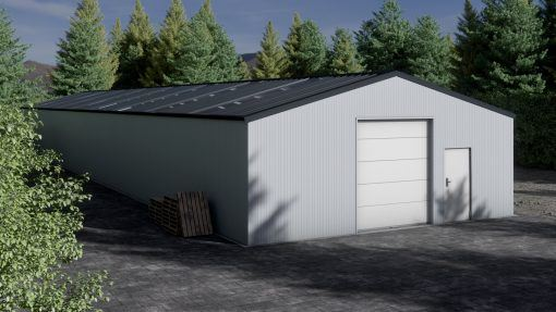 Storage building H1040-30 insulated