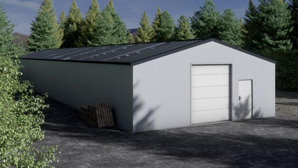 Storage building H940-30 insulated
